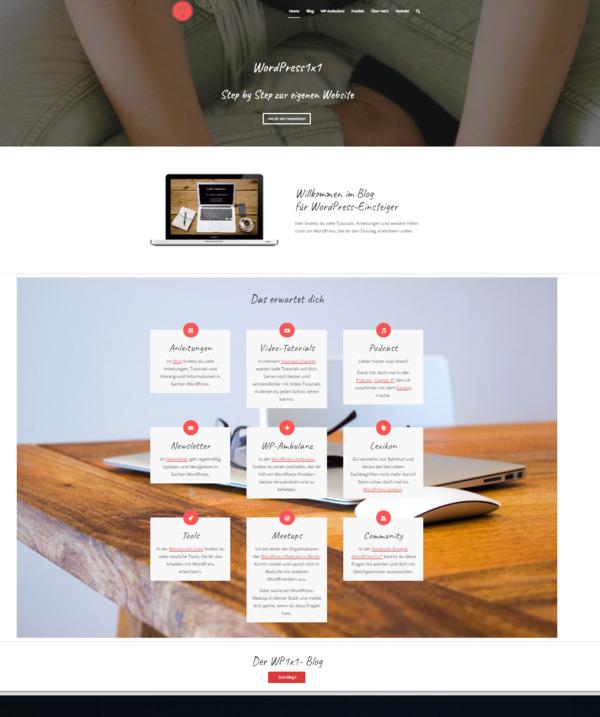 WordPress1x1