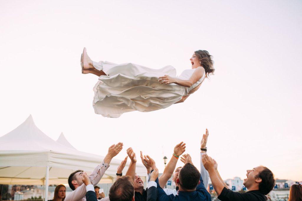 Peinliche Hochzeitsspiele